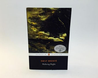Vintage Classics Book Wuthering Heights by Emily Brontë UK Edition Softcover Penguin Classics