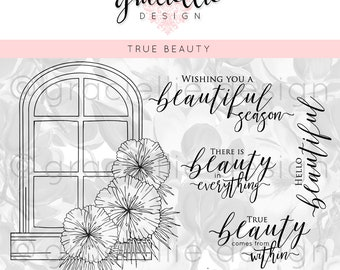 True Beauty Digital Stamp Set