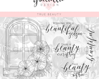 True Beauty Digital Stamp Set