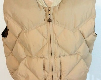 Vintage Walls Blizzard-Pruf Insulated Vest SizeLarge 1960's/1970's