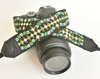 Lucky Ladybug Camera Straps