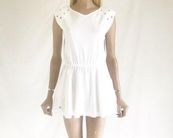 Vintage 70's Tennis Dress. Women's Small