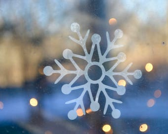 Snowflake Window Cling