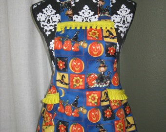 Childrens Halloween Apron *Clearance*