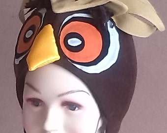 Brown owl costume for toddlers, kids and adults