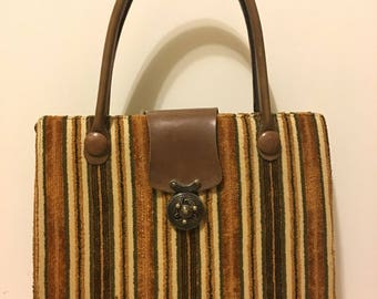 Vintage Mahler Carpet Bag