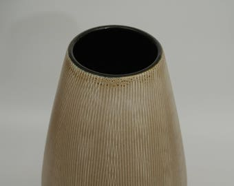 XL Vintage West German Studio Pottery Vase Ü-Keramik 455/35