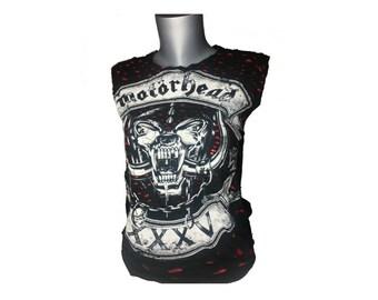 MOTORHEAD Shirt Upcycled Clothing Fashion