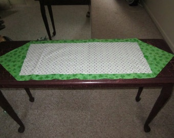 REDUCED Saint Patrick's Day Table Runner