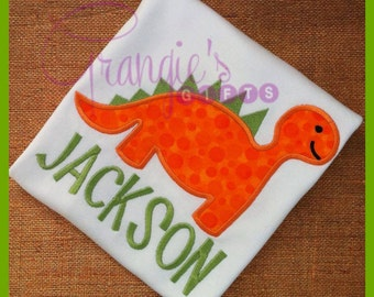 Personalized Dinosaur T-Shirt