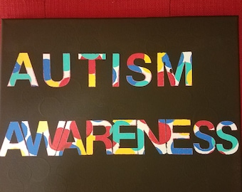Autism Awareness Painting