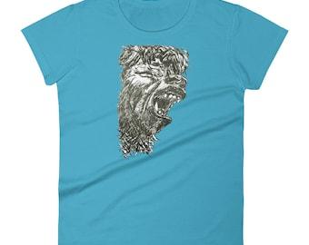 WOLFMAN Women's short sleeve t-shirt