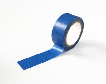 Solid Blue Washi Tape, 15mm x 5m