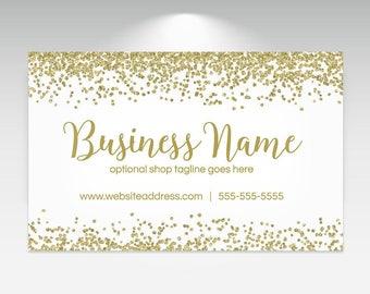 Craft Show Banner  - Vinyl Banner Design - Premade Craft Show Banner Design -  Gold Glitter