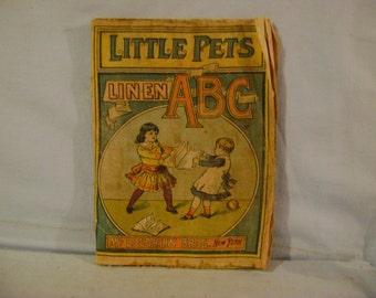 Vintage Linen ABC Book