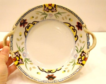 Hand-painted Nippon Serving Bowl