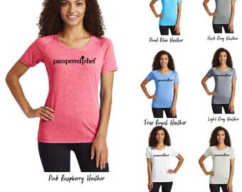 Pampered Chef tri-blend Scoop Neck Shirt, Scoop Neck Tee, Pampered Chef T-Shirt, Pampered Chef Shirt, Pampered Chef