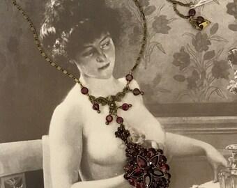Beautiful Garnet pendant