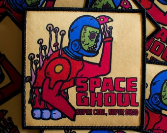 "LIMITED EDITION - Space Ghoul Patch (4""x4"")"