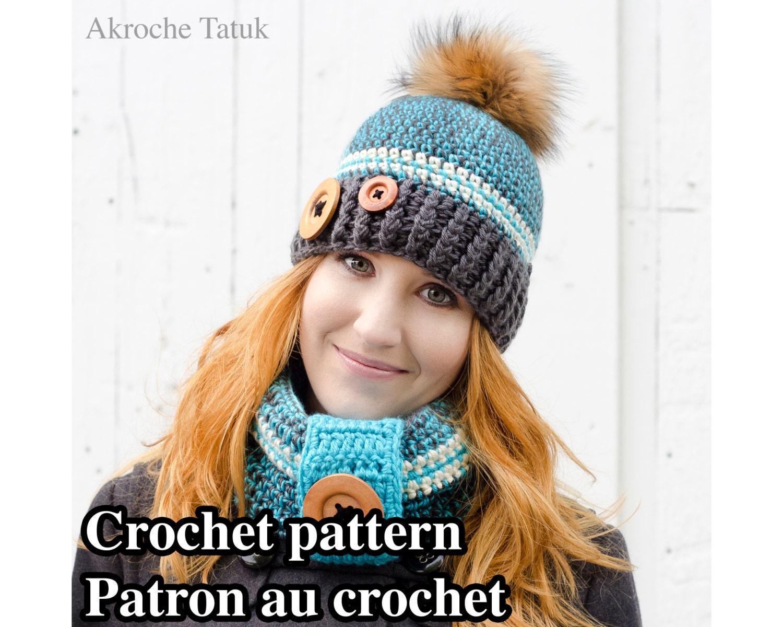 Pattern only Rustik kit crochet pattern by Akroche Tatuk
