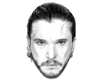 Jon Snow | Game of Thrones Art