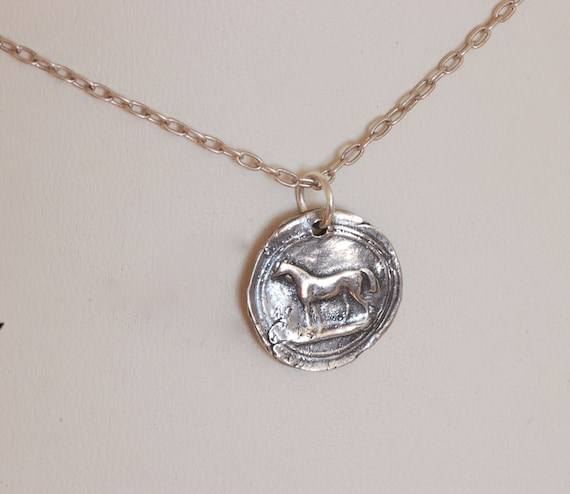 A Horse Lover's Necklace