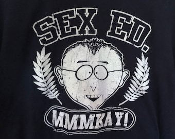 "Vintage South Park ""Mr. Mackey"" T-Shirt Size Men's M"