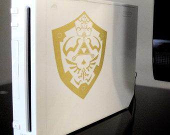 Legend of Zelda - Twilight Princess Shield Vinyl Decal
