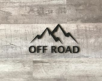 Off Road Vinyl Decal