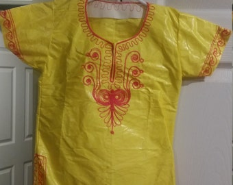 Children- African shirt and pant set