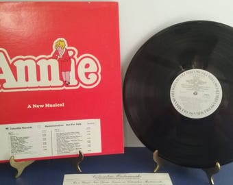 Annie The Musical - Special Promo Album - Circa 1977