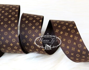 "4 yards :  Grosgrain CHOCOLATE BROWN Ribbon  1"" inch wide. Gift Wrap. DIY Supplies."