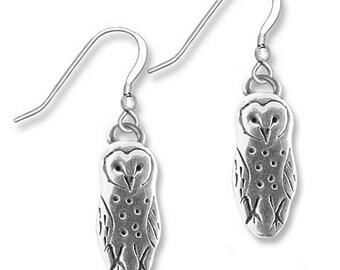 SS Barn Owl Earrings