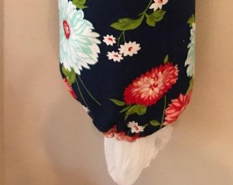Bonnie and Camille - Homemade Grocery Bag Holder / Carrier Bag Storage / Plastic Bag Storage & Grocery Bag Holders - BlueBrit Crafts