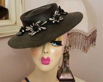 1940s sailor hat