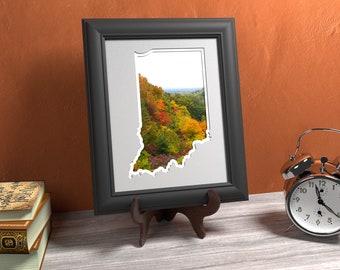 Indiana Photo Map