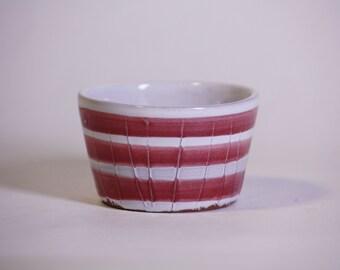 Striped Tea Cup