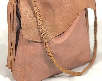 Leather Hobo Bag, Shoulder Bag, Boho bag, soft leather hand bag, Slouchy Hobo Bag, Women's Purse, Women's handbag