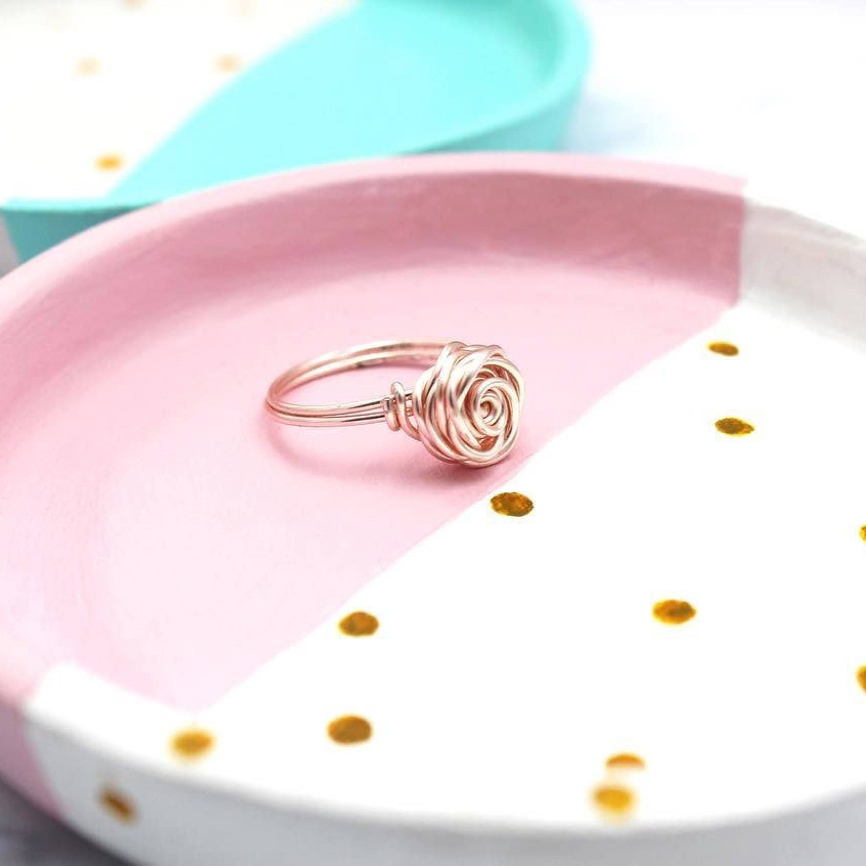 Rose Ring, Rose Gold - Rose Collection