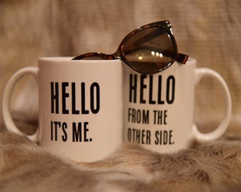 HELLO ADELE Coffee Mug