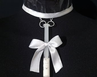 Menhera Harajuku Collar with syringe
