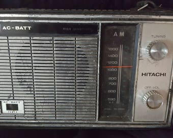 Hitachi Transistor AM Radio