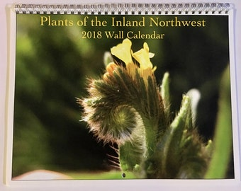 Plants of the Inland Northwest Wall Calendar