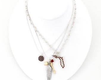 Florida State Traditions Trio Necklace