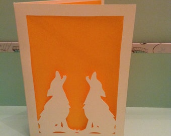 Wolf Greetings Card