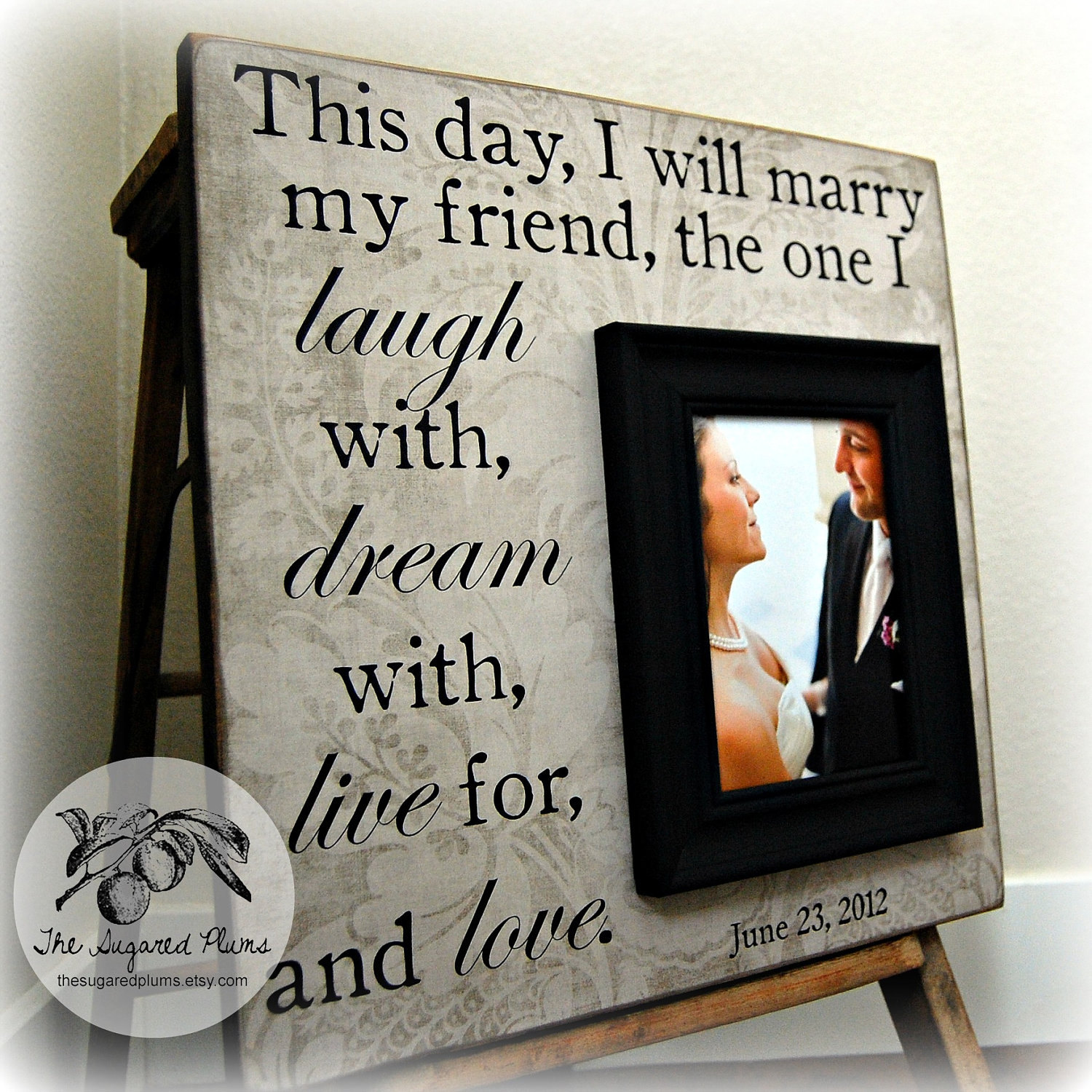 Personalized Wedding Gifts: Personalized Wedding Gift Unique Wedding Gift Personalized