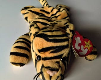 Ty Original Beanie Babies Stripes Tag Oddities