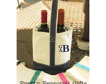 Wine Tote - 2 bottle wine tote