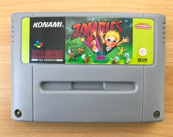 Zombies Ate My Neighbors for Super Nintendo SNES