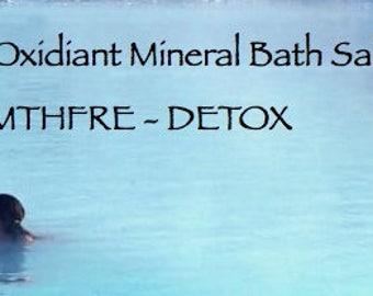 6 Pounds Moisturizing Aromatherapy Bath Salts - Detox - MTHFRE - autoimmune - C677T genetic detox - arthritis - rheumatoid - psoriatic